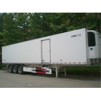 Quality 2 Or 3 Axle Refrigerated Cargo Trailer 35 Tons Capacity Customized Size for sale