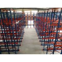 Quality Freezing Storage Heavy Duty Metal Shelving Rack Weight Capacity 1000 - 2000kg for sale