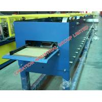 Quality Horizontal Galvanised Steel Roof Rain Gutter Roll Forming Machine for sale