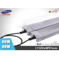 Quality Outdoor 60W LED Tri Proof Light IP65 , Explosion Proof LED Light Tube for sale