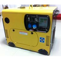 Buy cheap Air cooling 5kw silent diesel generator setsingle phase hot sale from wholesalers