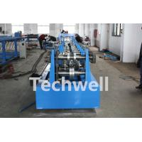 Quality CZ Shaped Purlin Roll Forming Machine With 17 Forming Station TW-CZ300 for sale