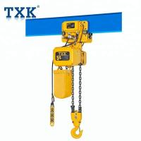 China ER2 series electric chain hoist with electric magnetic brake air cooled motor fan on sale