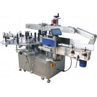 Quality 350 ml Square Bottle Auto Labelling Machine With Double Side Sticker 50 / 60HZ for sale