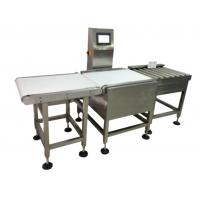 Buy cheap High Speed Checkweigher Machine , Automatic Checkweigher System Durable from wholesalers