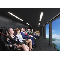Quality Future 12 KW Seats Motor Air Theater With Over 50 Movies In Amusement Park for sale