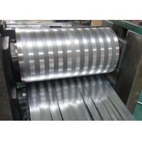 Quality 8000 Series Mill Finished Aluminum Fin Strips Heat Exchange Materials For Air Dryer for sale
