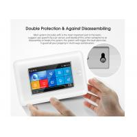 Quality Full Touch Screen Wireless Security Alarm System GSM 3G WIFI 2 Years Warranty for sale