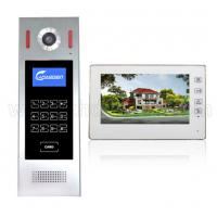 Quality 7'' color TFT LCD Screen building wires video door phone 4+2 wire VDP intercom system for multi-apartments for sale