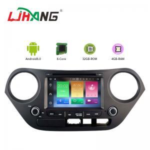 Quality Mirror Link SWC Hyundai Elantra Dvd Player , Built - In GPS Hyundai Portable Dvd Player for sale
