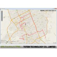 Quality Online Configuration GPRS GPS Fleet Tracking Software Polygone Geofence for sale