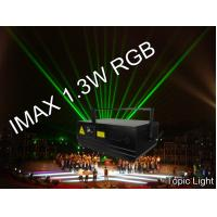 China Laser Show Club Stage Pangolin DMX Control Laser Light IMAX 1.3W on sale
