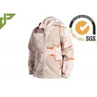 Quality 3 Color Desert Men Tactical Military Winter Fleece Hooded Outdoor Jacket For Camouflage for sale