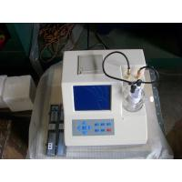 Quality HB-WS Karl Fischer Transformer Oil Moisture Tester for sale