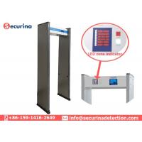 Buy cheap 6 Detecting Zones Metal Detector Walk Through Gate For Shops / Hotels / from wholesalers