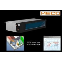 Quality BLDC Brushless Motor Horizontal Fan Coil Unit 700CFM 2 Pipe System Linear Typ for sale