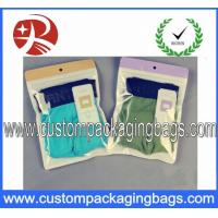 Quality Underwear Plastic Ziplock Bags Laminated Non-toxic With Recyclable for sale