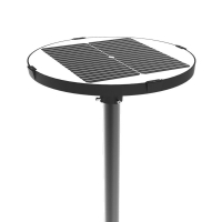 Quality LVD IP66 20Ah 150lm/w Outdoor Solar LED Light 10W for sale