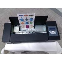 Quality A4 Size Paper Sticker Cutter Auto Feeding System For Food/Wine Labels Making for sale