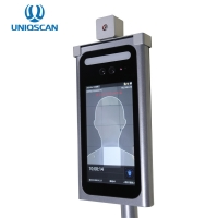 """Quality Face Recognition 7"""" IP34 Access Control Attendance Machine for sale"""