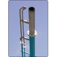 Flare ignition device in drilling mud process system