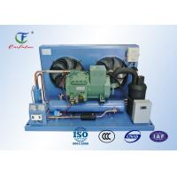Quality R404a Bitzer Refrigeration Compressor Unit , Reciprocating Walk In Cooler Condensing Unit for sale
