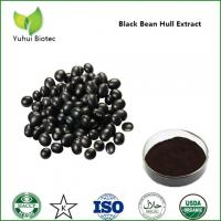 Quality Black Bean Extract,black soybean powder,black bean hull extract,black soybean hull extract for sale