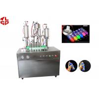 Quality Snow Sprays / Party Strings Semi Automatic Aerosol Filling Machine In Party , Wedding , Festival for sale