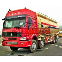 Quality 8x4 Dry Bulk Cement Truck HW76 /  HW79 Cabin Model Low / High Roof Cabin for sale