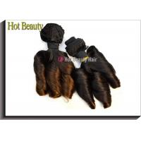China 8 Inch - 18 Inch Funmi Ombre Human Hair Extensions Grade 6A 110g / Piece on sale