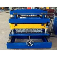 Quality Customized Metal Roof Tile Roll Forming Machine for sale