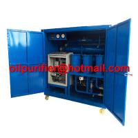 Quality Double stage high vacuum used mineral oil treatment ,super voltage transformer oil purifier, vacuum pumping set ultimate for sale