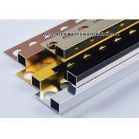 Quality Window Sill Cubic Square Wall Tile Trim Edging 10mm For Tile Border for sale