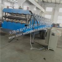 Quality Portable IBR Sheet Double Layer Roll Forming Machine 7.5KW With Hydraulic Cutting for sale