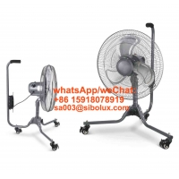 """Quality 18"""" SIBOLUX 3 Speeds Portable Fan Scorpoin Base with Castors Auto Oscillation Metal Struction Industrial Fan with Wheel for sale"""