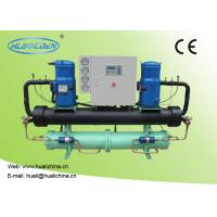 Quality R407C / R22 Commercial Water Cooled Water Chiller Open Scroll Type Compressor for sale