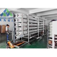 Dow Membrane Seawater To Drinking Water Machine Customized Output Capacity