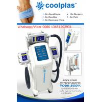 Quality Coolplas cryolipolysis slimming stubborn fat removal for sale