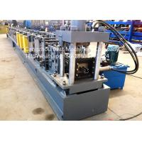 Buy cheap Automatic Storehouse Warehouse storage shelf box beam rack roll forming machine from wholesalers