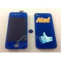 Quality iphone 4 LCD with digitizer glass+back housing for sale