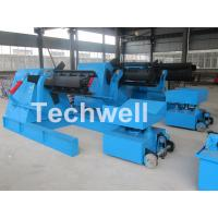 Quality 7 / 10 / 15 Ton Weight Capacity Steel Coil Decoiler With Adjustable Working Speed for sale