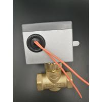Quality BRASS MATERIAL 2 Way Motorised Valve For Chilled Water With Rest By Spring for sale
