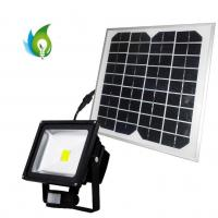 Quality 30W PIR Sensor LED Flood Light with Solar Power for sale