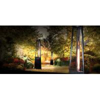 Quality Movable Flame Tower Gas Patio Heater , Highest Btu Garden Flame Heater for sale