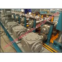 Quality Two / Three Wave Highway Guardrail Roll Forming Machine Thickness 3mm±0.2mm for sale