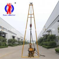 China hydraulic water well drilling rig 130m depth rock core sampling machine/ HZ-130Y/borehole drilling equipment price on sale