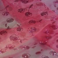 Quality Best-selling Silver Glitters On Mesh And Lace Fabric/glitter tulle for sale