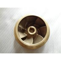 Best High Precision Submersible Silicon Brass Water Pump Impeller For Water Pump Parts wholesale