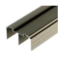 Best Golden / Silver Anodized Aluminum Curtain Wall Profile , 6063-T5 , 6060-T6 wholesale