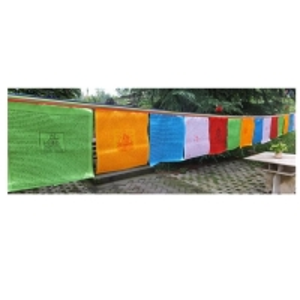 Quality Satin Polyester L7m Tibetan Prayer Flags for sale